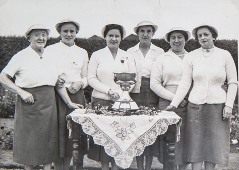 Wormit Lady Bowlers 1950s