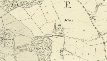 1855 OS Map St Fort