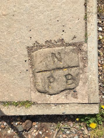 Wormit Bay Boundary Stone