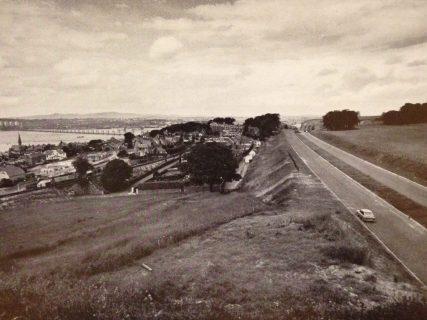 Dual Carriageway above Newport