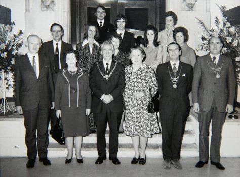 Newport's Final Town Council 1975