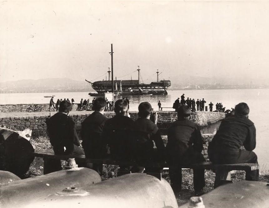 Departure of the Mars 26 June 1929