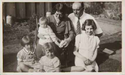 Squibb Family and Evacuees | Margaret Wright