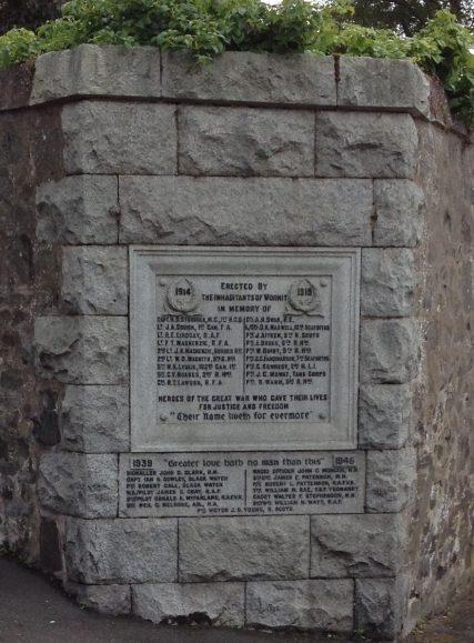 Wormit War Memorial