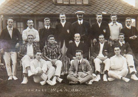 Newport Cricket Club 1910