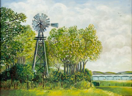 Windmill at the Park | Helen Wallace