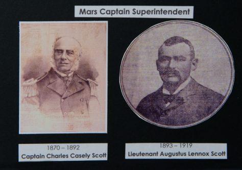 Four Mars Captain Superintendents