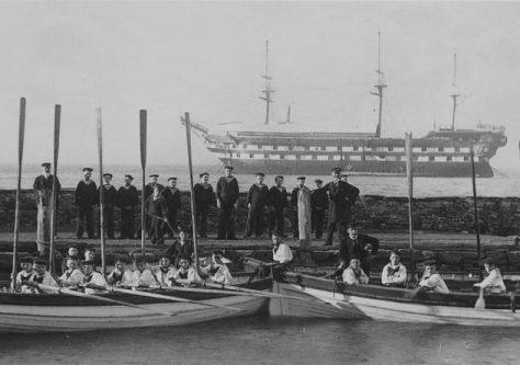 Mars' Boat Crews at Woodhaven