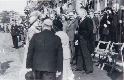 Queen on High Street 1950