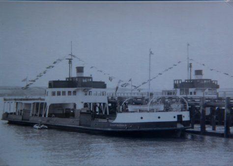 Scotscraig and Abercraig at Dundee Prior to Last Sailing 1966