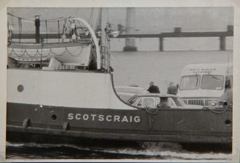 A close-up of the Scotscraig c. 1965