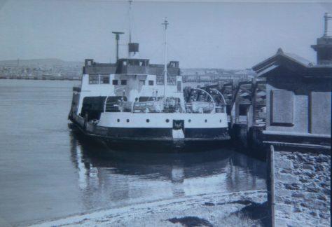 The Abercraig at Newport Pier c. 1960