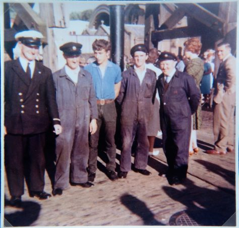 The Crew of the Last Ferry Crossing, 1966