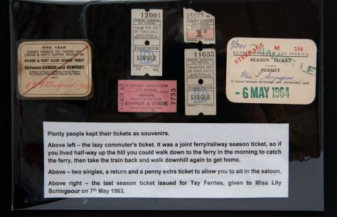 A Selection of Ferry Tickets
