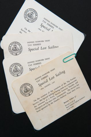 Special Last Sailing Ferry Tickets, 18th August 1966