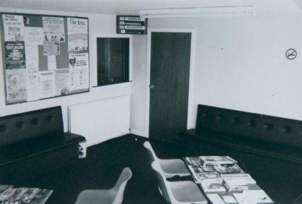 Waiting Room at New Surgery 1978