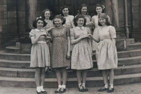 Newport School Miss Rose Dancing Group 1940s