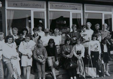 Newport School P7, 1989