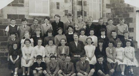 Wormit School 1950s