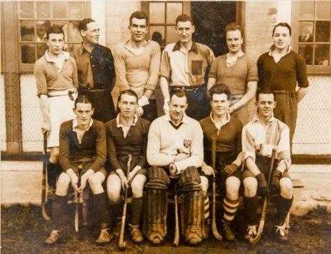Newport Hockey Club at Windmill Park, c.1928/29