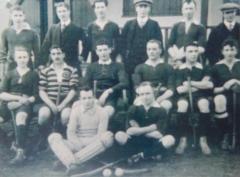 Newport Hockey Club at Windmill Park, c. 1912