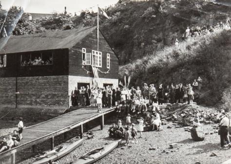 Wormit Boating Club Boathouse
