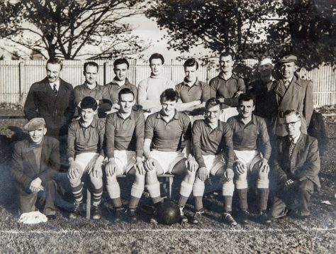 Newport Football Team, mid-1950s