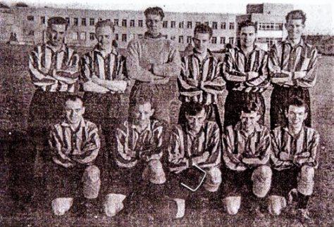 Wormit Football Team, early 1950s