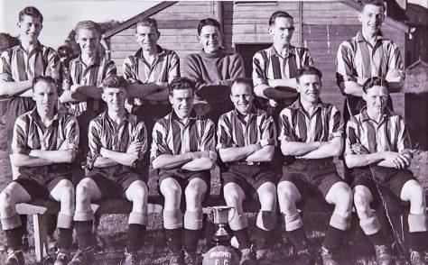 Wormit Football Team, 1952