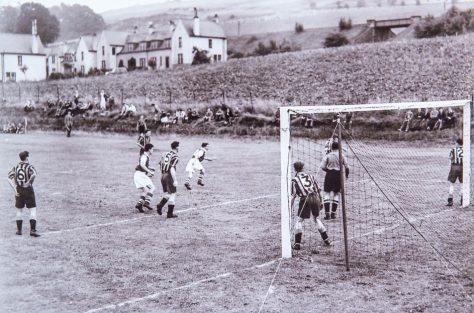 Wormit Football Team in Action, early 1950s