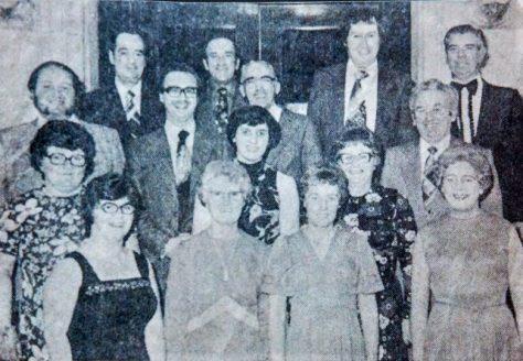 Newport Bowling Club Dance, c.1980