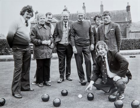 Bowlers on the Newport Green, 1990s