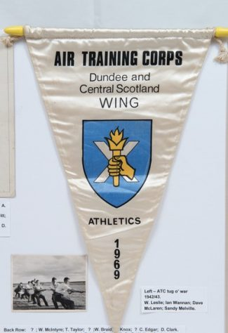 Pennant for The Newport Branch of ATC