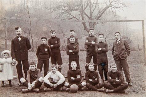 Boys' Brigade Football Team, 1900
