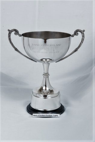 Bank of Scotland Scotquiz Trophy, won by Newport Primary School, 1990