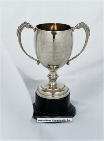 Newport Junior Secondary School Cup for Scratch Events