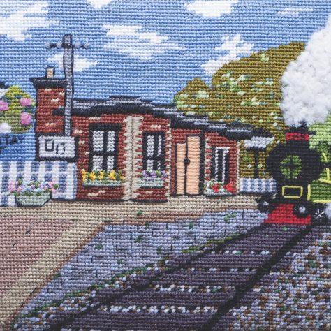 Panel U - Newport West Station