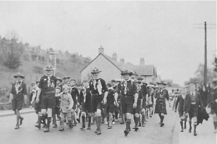Procession Down Newburgh Road