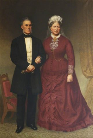 Painting of Mr and Mrs Blyth Martin