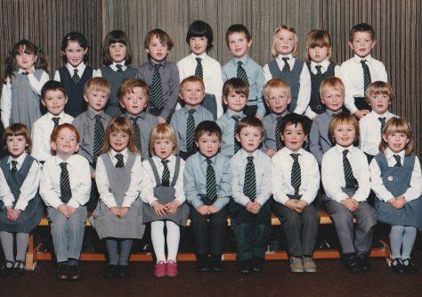 Newport School P1, 1986