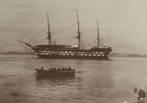 Mars Training Ship and Rowing Boat