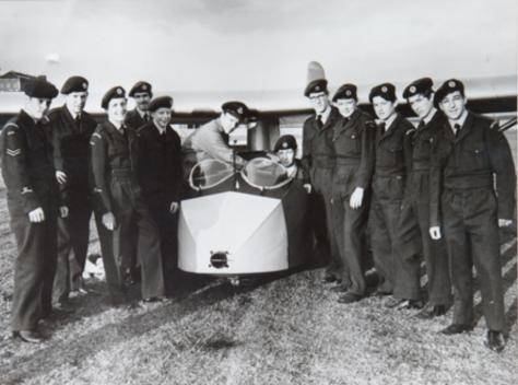 Newport ATC on Glider Training, 1966