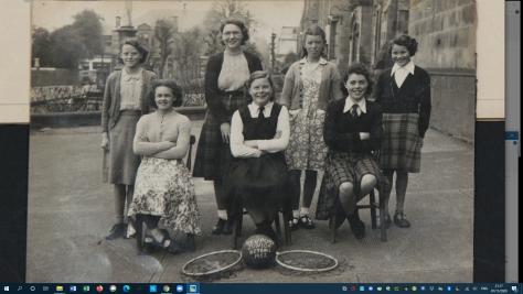 Newport School Junior Netball Team 1952