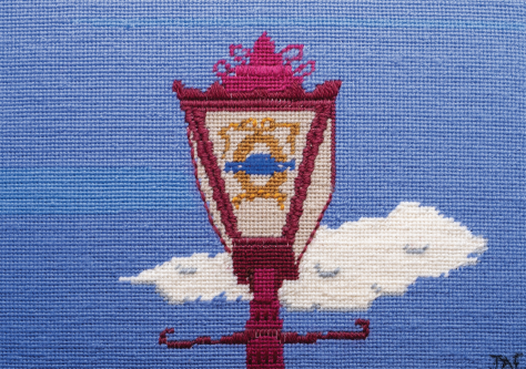 Panel B - A Provost's Lamp