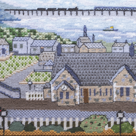 Newport East Station - Tapestry Panel