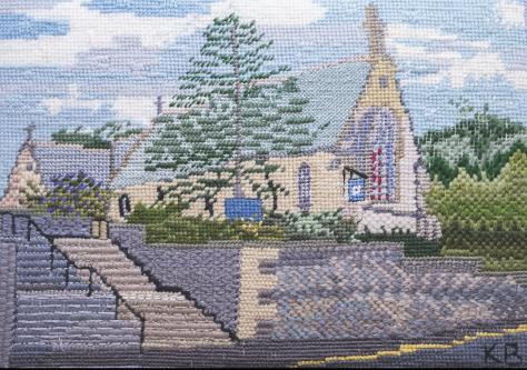 Panel M - St Mary's Church, Newport