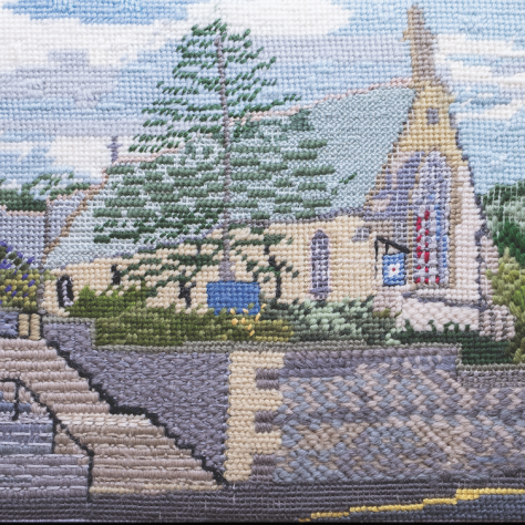 St Mary's Church, Newport - Tapestry Panel