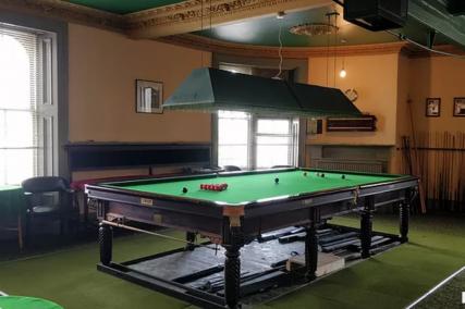 Billiards at the Club   Newport Club