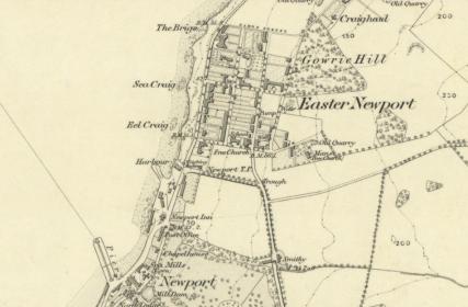 1855 OS Map