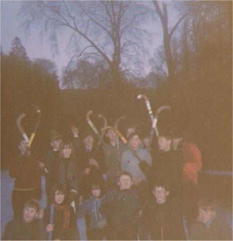 Ice Hockey at Tayfield 1966